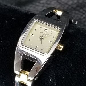Fossil Relic Womens Stainless Steel Watch Square F